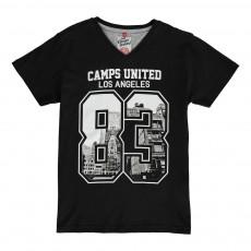 T-Shirt Los Angeles 83 Noir