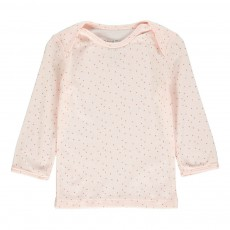 T-Shirt Croix Fendi Rose pâle