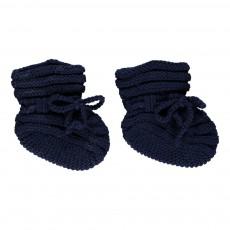 Chaussons Baby Sock Bleu marine