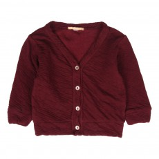 Cardigan Cira Bordeaux
