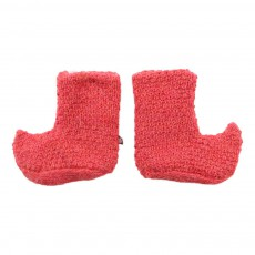 Chaussons Baby Alpaga Elf Booties Rouge