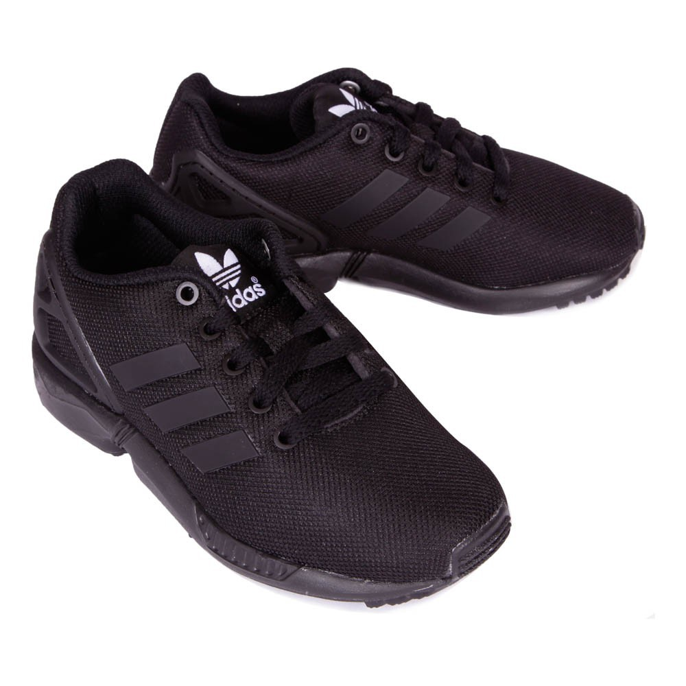 baskets lacets zx flux noir adidas chaussures smallable. Black Bedroom Furniture Sets. Home Design Ideas
