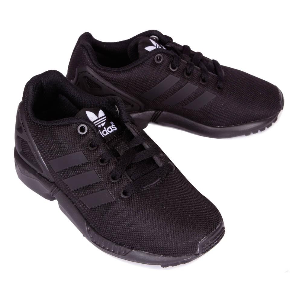 baskets lacets zx flux noir adidas chaussures smallable. Black Bedroom Furniture Sets. Home Design Ideas
