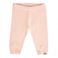 Pantalon Maille Rose