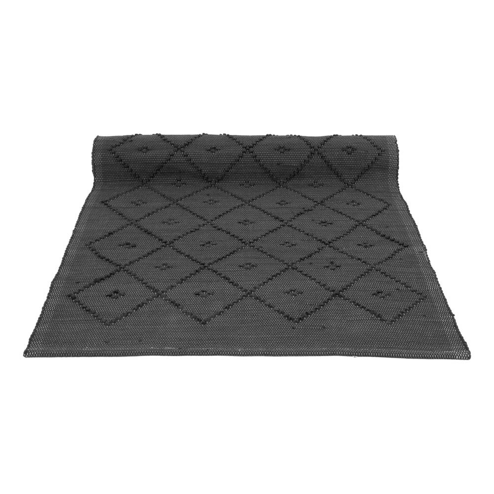 tapis diamond gris anthracite naco d coration smallable. Black Bedroom Furniture Sets. Home Design Ideas