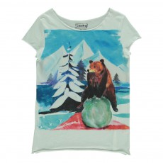 T-Shirt Ours Twidy Blanc