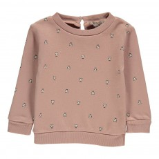 Sweat Ours Vieux Rose