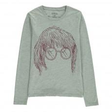 T-Shirt John Lennon Keno Gris chiné