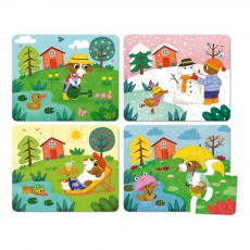 Puzzles Les 4 saisons