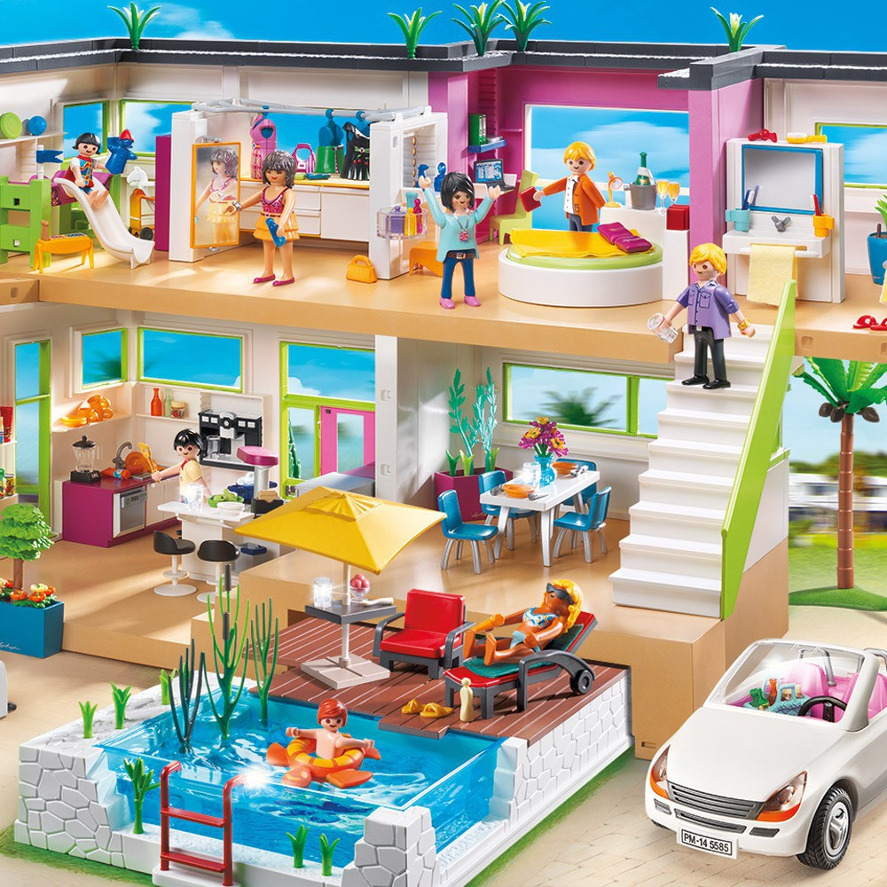 Hd Wallpapers Maison Moderne Playmobil Toys R Us Wallpaper Android