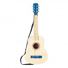 Guitare Bleu