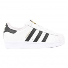 Baskets Lacets Superstar Noir - Doré - Blanc