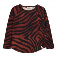 T-Shirt Zébra Noir
