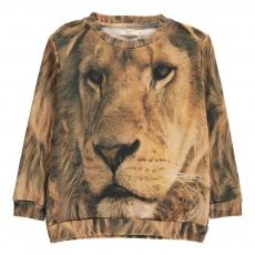 Sweat Loose Lion Beige