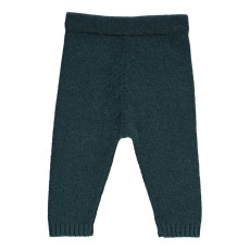 Pantalon Laine 4 Fils Bleu
