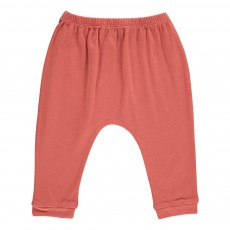 Pantalon Jersey Cannelle Rouge brique