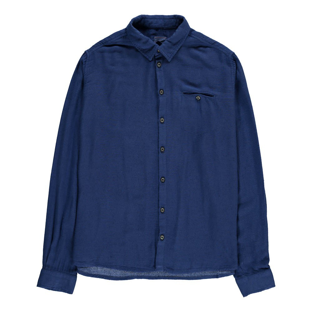 chemise poche ben bleu indigo morley mode ado gar on smallable. Black Bedroom Furniture Sets. Home Design Ideas