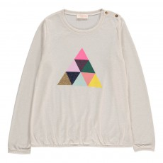 T-Shirt Triangle Ecru