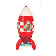 Fusée géante magnétique Rouge
