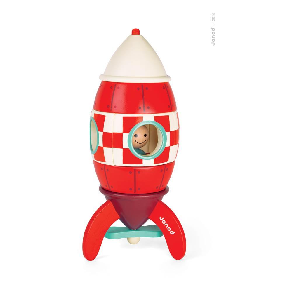 fus e g ante magn tique rouge janod jeux jouets loisirs enfant smallable. Black Bedroom Furniture Sets. Home Design Ideas