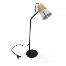 Lampe de bureau Cone Gris clair
