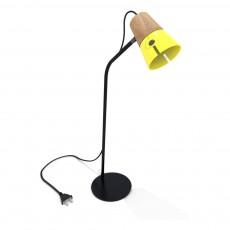 Lampe de bureau Cone Jaune