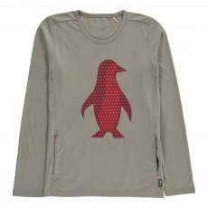 T-Shirt Coton Bio Pingouins Gris