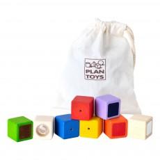 Blocs sensoriels Multicolore