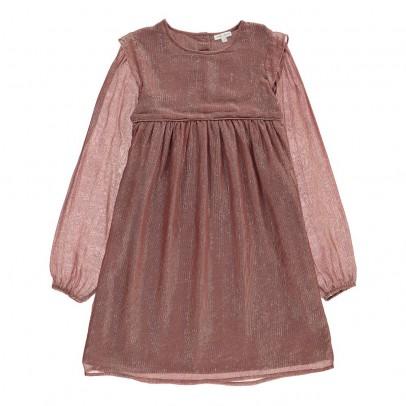robe ray e lurex monica vieux rose louis louise mode enfant smallable. Black Bedroom Furniture Sets. Home Design Ideas