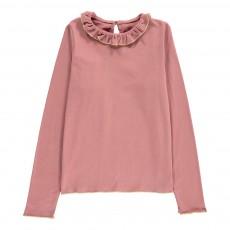 T-Shirt Collerette Stella Vieux Rose