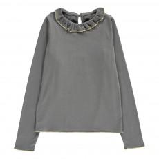 T-Shirt Collerette Stella Gris