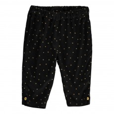 Pantalon Pois Officier Noir