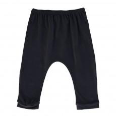 Pantalon Jersey Cannelle Bleu marine