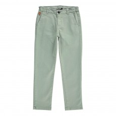 Pantalon Chino Metropolitan Vert argile