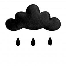 Mobile Gouttes de pluie Noir