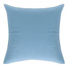 Taie d'oreiller en lin Bleu gris