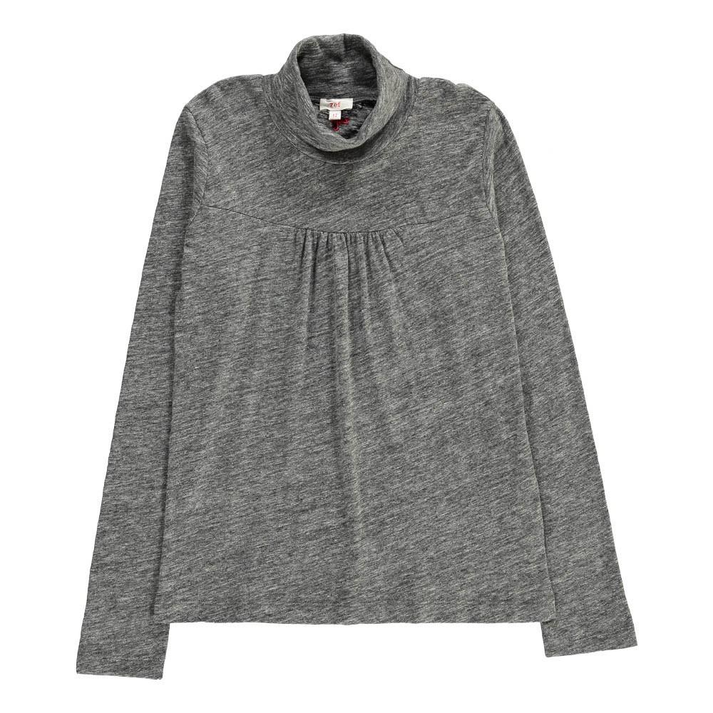 sous pull col roul crazy gris chin zef mode enfant smallable. Black Bedroom Furniture Sets. Home Design Ideas