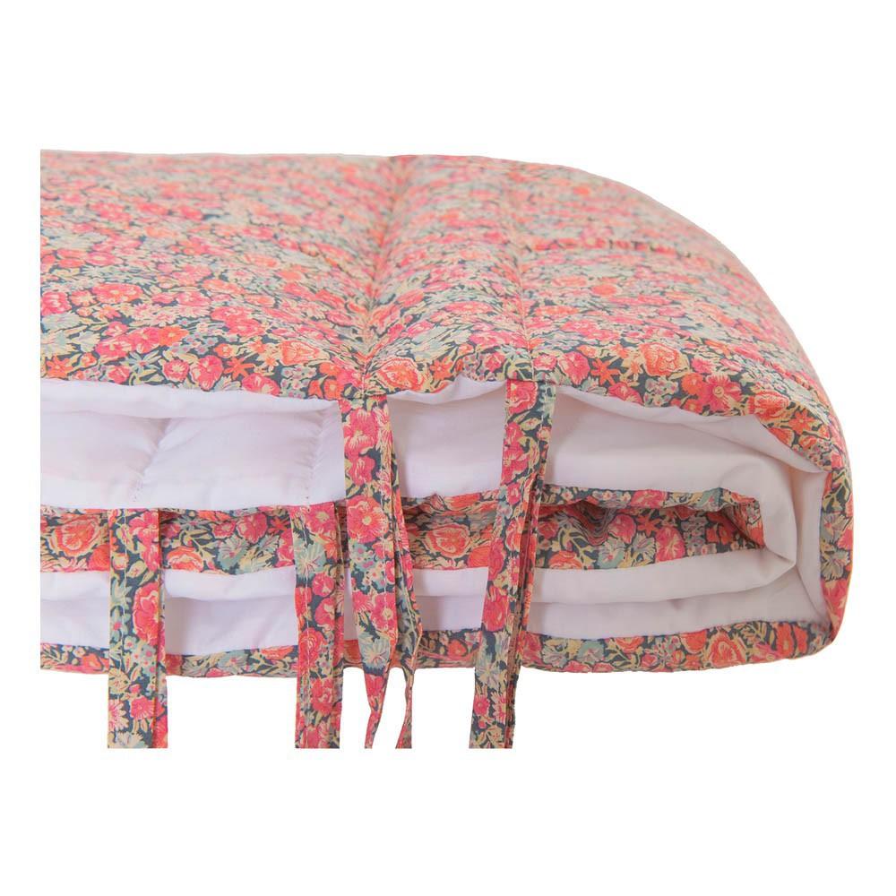 tour de lit liberty chive multicolore lab univers b b smallable. Black Bedroom Furniture Sets. Home Design Ideas