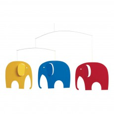 Mobile Elephant Party Multicolore
