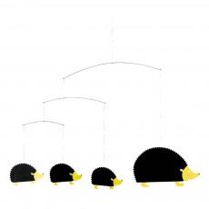 Mobile Hérissons Noir