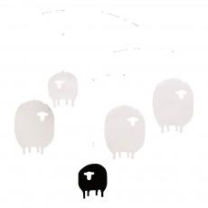 Mobile Moutons Blanc