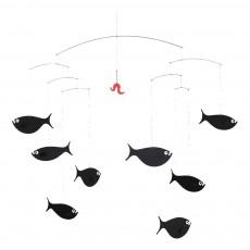 Mobile Banc de poissons Noir