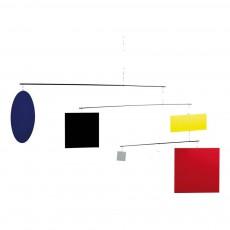 Mobile Cercle et Carré Guggenheim Multicolore