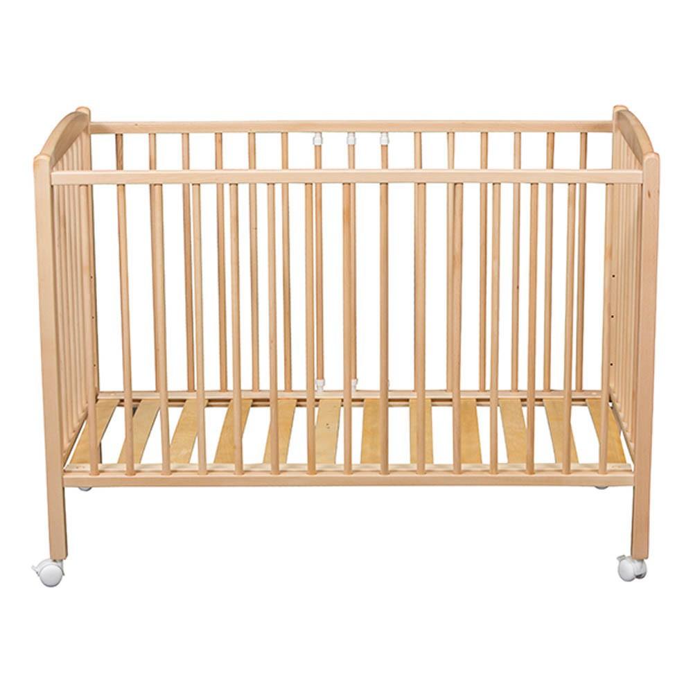 Lit b b naturel combelle mobilier smallable - Lit bebe bois naturel ...