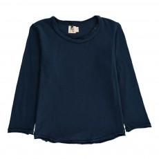 T-shirt Uni Aztec ML Bleu