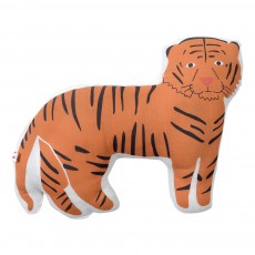 Coussin doudou Rocky le tigre