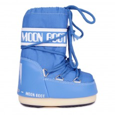 Moon Boot Nylon Bleu azur