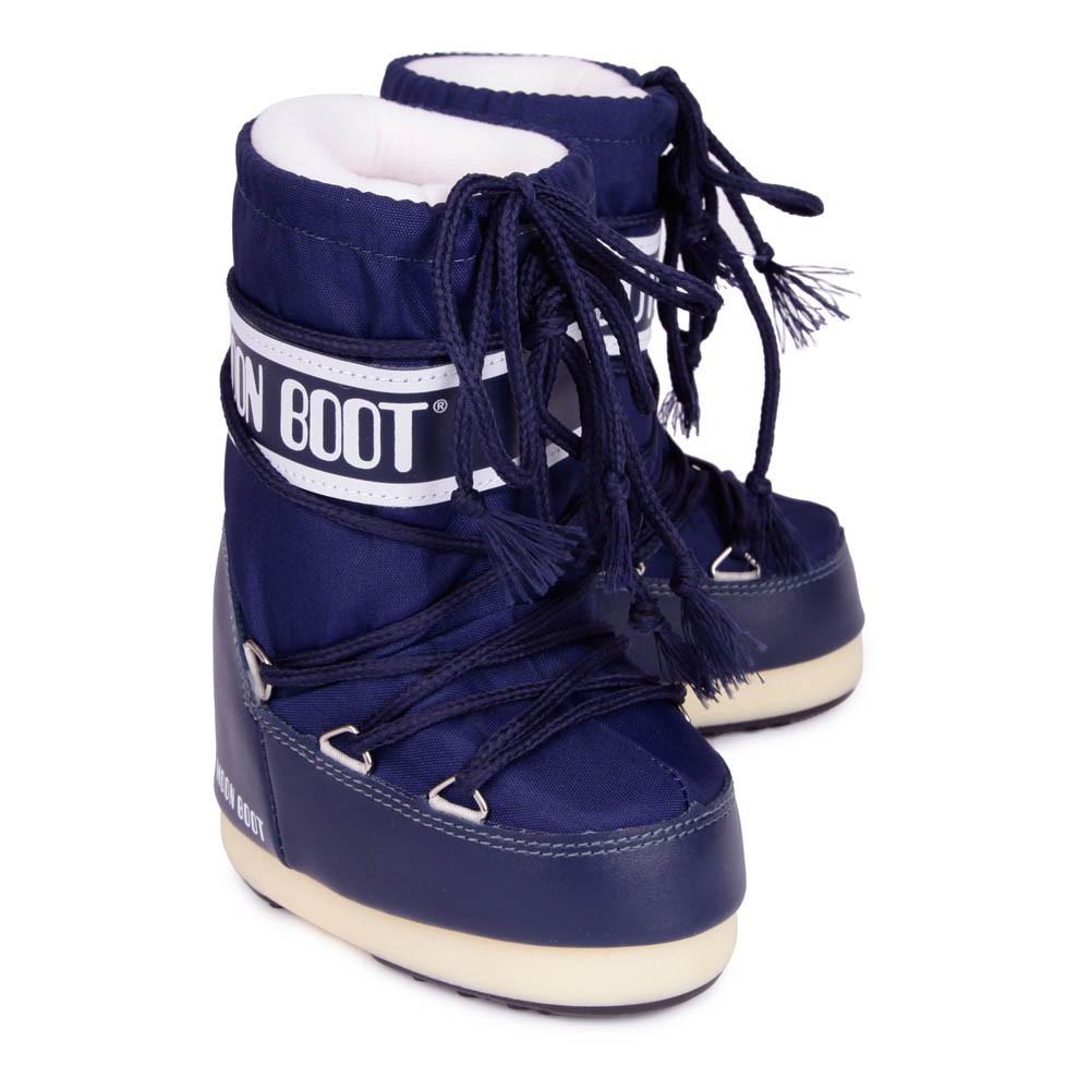 moon boot nylon bleu marine moon boot chaussures smallable. Black Bedroom Furniture Sets. Home Design Ideas