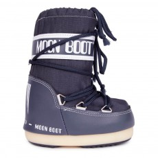 Moon Boot Nylon Bleu pétrole