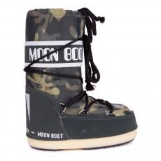 Moon Boot Camu Vert kaki